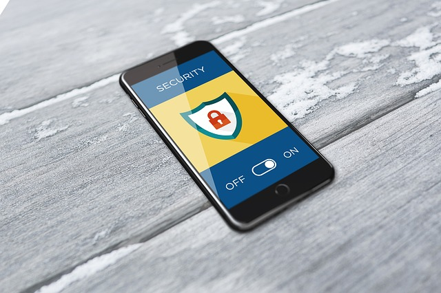 benefits of using a vpn - mobile phone with padlock